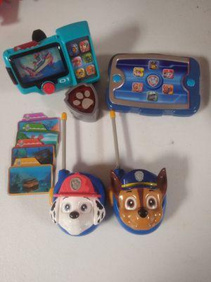 Pet patrol toys lot for Sale in Grand Rapids, MI