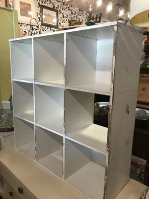 White shelf cube needs paint 36 by 12 by 36 for Sale in San Diego, CA