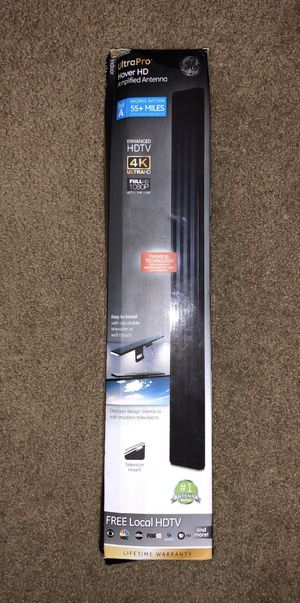 GE UltraPro HD Amplified TV Antenna for Sale in Tucson, AZ