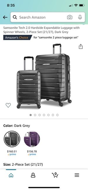 Samsonite Tech 2 (Grey) for Sale in Yucaipa, CA