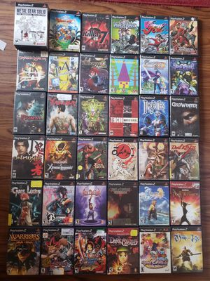 Ps2 games playstation 2 for Sale in Tampa, FL