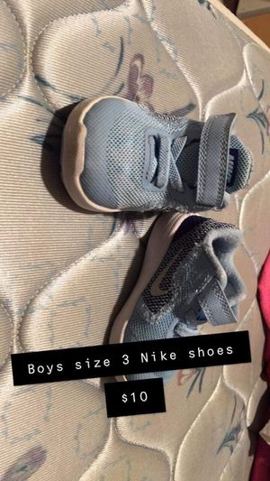 Boys size 3 nikes now $5 for Sale in Leeds, AL