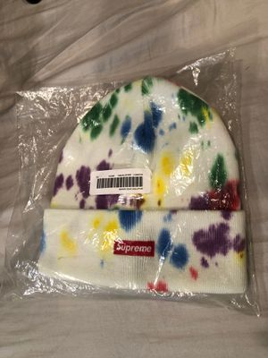 "Supreme Beanie ""Splatter Dyed"" for Sale in Fort Washington, MD"