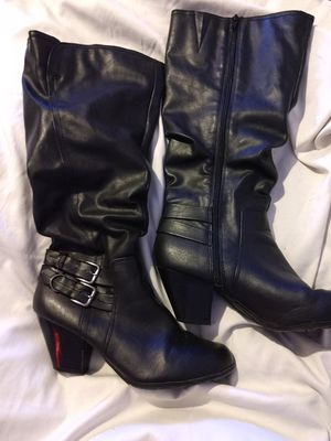 Black knee high boots size 9, will take offers for Sale in Kenner, LA