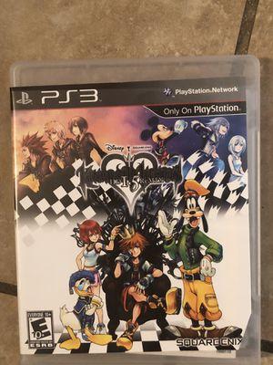 Kingdom Hearts HD 1.5 Remix (PS3) for Sale in Glendale, AZ
