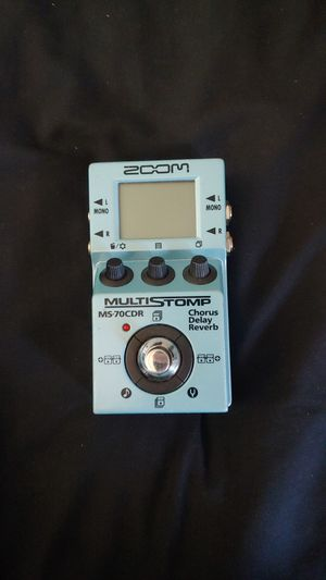 ZOOM Multistomp MS-70CDR guitar pedal for Sale in Mesa, AZ