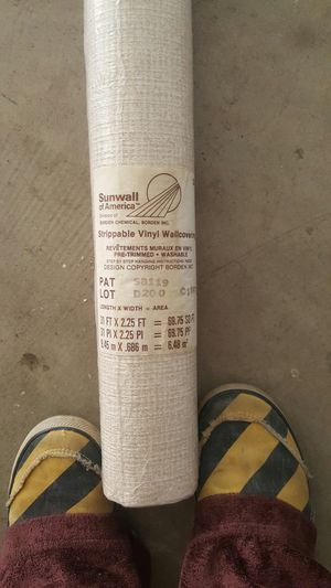Strippable vinyl wallpaper for Sale in San Diego, CA