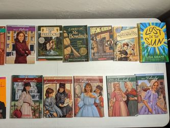 Lot of 10 American Girl Books and 5 Non-Fiction Novels for Pre-teens and Young Teens. From Award-winning Authors. Books in Excellent Condition for Sale in San Diego,  CA