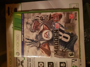 Madden NFL 13 xbox 360 games for Sale in Walton Hills, OH