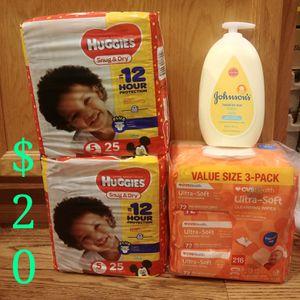 Huggies J&J Wipes Bundle for Sale in Colorado Springs, CO