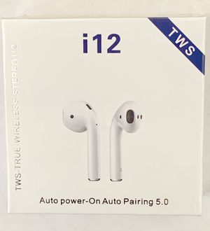 Wings Mini Stereo I7 TWS I7s Twin Ture Wireless Smart Bluetooth Double Stereo Earbuds Price Earpiece Earphones With Charger Box for Sale in Riverside, CA