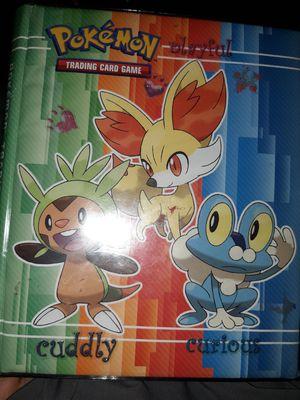 Holo pokemon card binder for Sale in Phoenix, AZ