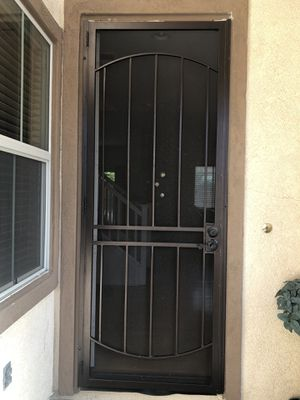 Brawn Steel Surface Mount Single Security Door for Sale in Oceanside, CA