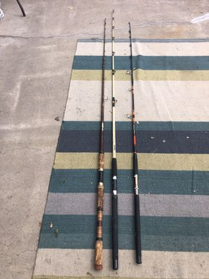 Fishing rods for Sale in Westminster, CA