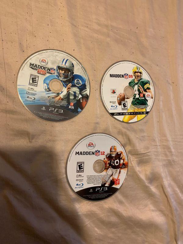 Sony PlayStation 3 Games NFL Madden