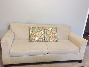 Sofa couch 3 piece microfiber for Sale in Highland, MD