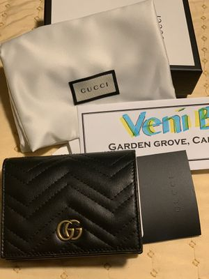 Brand New Gucci Marmont Card Holder Wallet for Sale in Garden Grove, CA