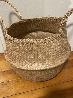 FLÅDIS IKEA Seagrass Basket for Sale in Shoreline,  WA