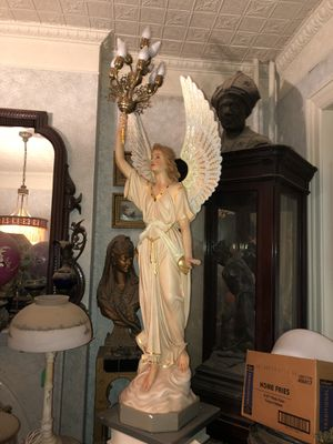 Life size angel with electrified candelabra for Sale in Washington, DC