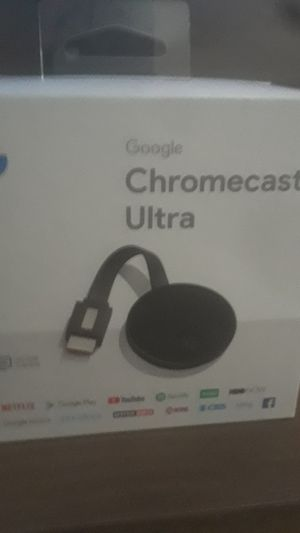 Google chromecast Ultra for Sale in Hesperia, CA