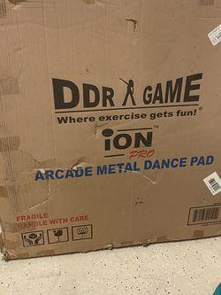 DDR Dance Revolution Arcade Metal Dance Pads for Sale in St. Petersburg,  FL