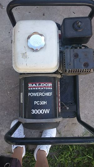 3000 watt generator for Sale in Sarasota, FL