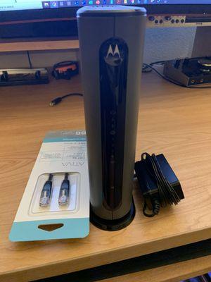 Motorola MG7315 Modem WiFi router for Sale in Las Vegas, NV
