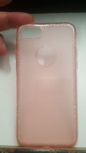 """Case for iphone 7/8 4.7"""" not plus pink glitter new 7firm shiping only for Sale in Phoenix, AZ"""