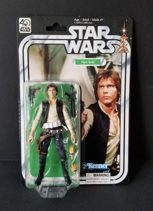 STAR WARS ACTION FIGURE HAN SOLO 40TH ANNIVERSARY for Sale in Fullerton, CA