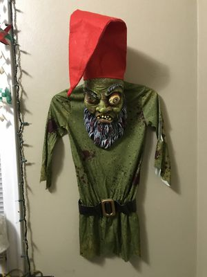 Disguise Childs Boy Girl WICKED TROLL Halloween Costume Evil Gnome Sz M 7-8 for Sale in Portland, OR