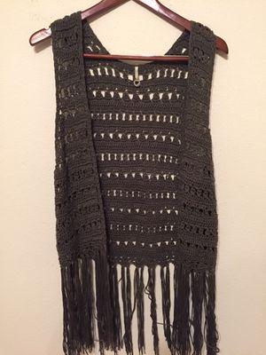 Fringe crochet vest from Dillards for Sale in Austin, TX