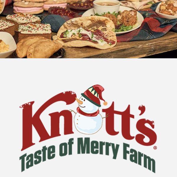Taste Of Knott's Merry Farm Nov 28