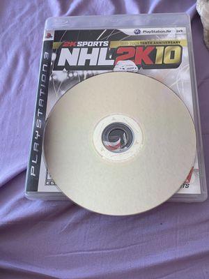NHL 2k10 for Sale in Santa Maria, CA