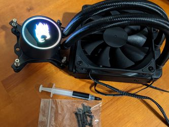 IBuyPower RGB Liquid CPU Processor Cooler AIO For Gaming Computer Desktop PC for Sale in Orlando,  FL