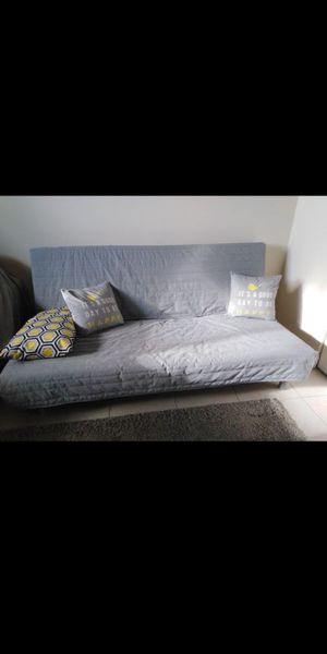 Ikea Beddinge sofa bed with Lovas mattress Light Grey. Selling both mattress, grey cover, and frame. for Sale in Miami, FL