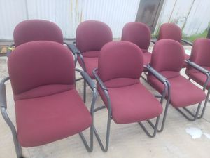 used RECEPTION CHAIRS FOR SALE!!!!....each for Sale in Houston, TX
