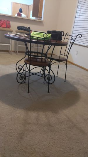 Wooden/Iron Table for Sale in Columbus, OH