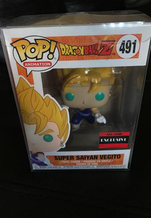 Super Saiyan Vegito funko pop (AAA ANIME EXCLUSIVE) for Sale in Garden Grove, CA