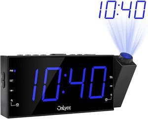 OnLyee Projection Ceiling Wall Clock for Sale in Raytown, MO
