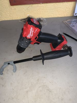 Brand new Milwaukee fuel hammer drill no battery no charger firm price firm price firm price for Sale in Plant City, FL