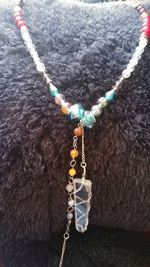 Hand made crystal necklace for Sale in Escondido, CA