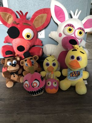 Five Nights at Freddy's plushies for Sale in Portland, OR