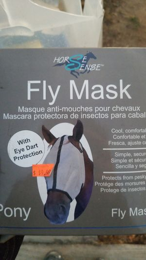 Pony fly mask for Sale in Bonita, CA