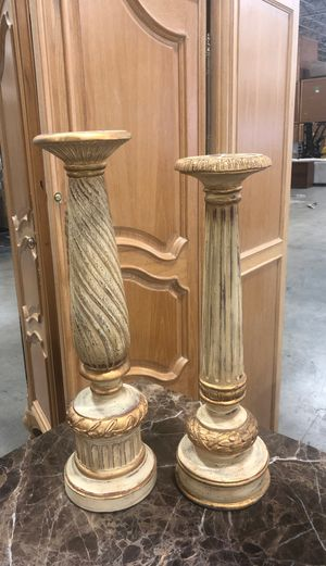Solid wood candle holders for Sale in Doral, FL