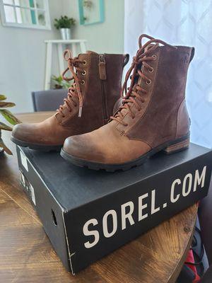 Sorel Emelie Short Lace Boot, Women's 8.5 for Sale in Chandler, AZ