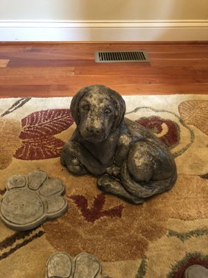 Stone Statue Dog Collection Set for Sale in Downingtown, PA