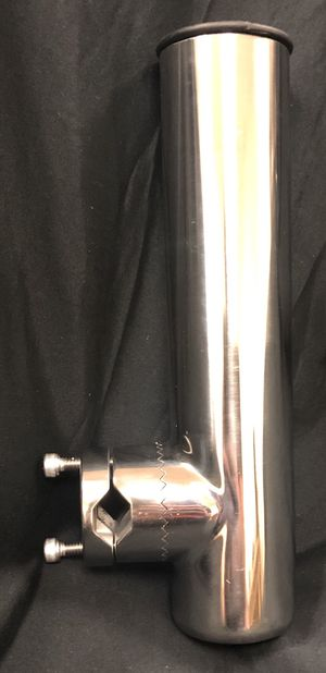 "Amarine Made Stainless Clamp on Fishing Rod Holder for Rails 7/8"" - 1"" - Brand New for Sale in Temple City, CA"