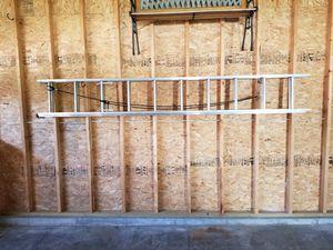 Keller model 3520 20' Aluminum D-Rung Type ll Extension Ladder for Sale in Menomonie, WI