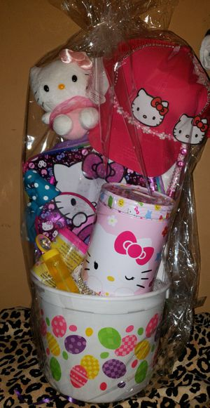 Hello kitty Easter basket for Sale in E RNCHO DMNGZ, CA