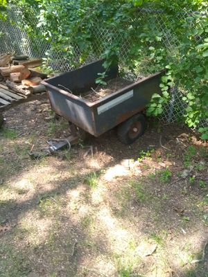 Decent trailer for yard tractor or ATV for Sale in Groton, CT